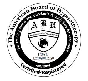 Hypnotherapy Certification Seal PNG